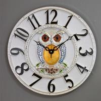 (kjco047)저소음 샤론부엉이 400벽시계 (S)