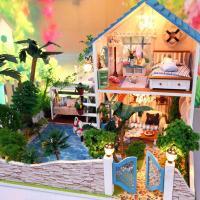 [adico]DIY미니어처 풀하우스 - 연못 정원