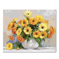 DIY 페인팅 귀여운 꽃 PG55 (50x40)