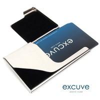 ★[excuve]TGX1S-BUSINESSCARD CASE 스틸 이니셜 명함케이스-카드케이스