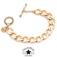 [참스홀릭] vintage gold bracelet ckb 101 참 전용 팔찌