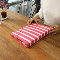월화수목 바로펀치3공바인더 - 화요일엔 Raspberry stripe