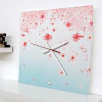 ch542-벚꽃이내리는_인테리어벽시계