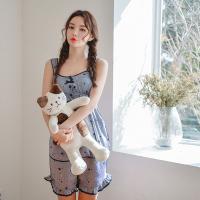[쿠비카]쟈카드 스페이스 민소매 투피스 여성잠옷W313