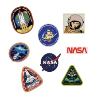 [럭키플래닛]프리미엄 리폼스티커_NASA