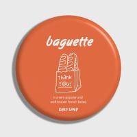 [어프어프] 손거울 Baguette-orange