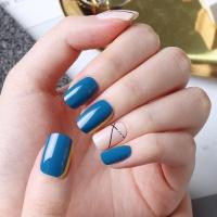 [글로시블라썸] 젤네일스티커 시티홀 블루