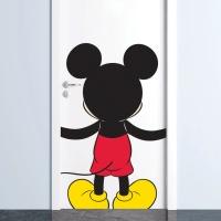 디즈니 키덜트 허그미 미키 현대시트 그래픽 스티커