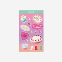 쏘슬러시 콜라주스티커-sweets