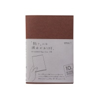 MD 노트 커버 [紙] 10th Cordoba 브라운 (S)