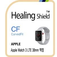 애플 워치3 LTE 38mm 고광택 액정필름2매+심박센서2매