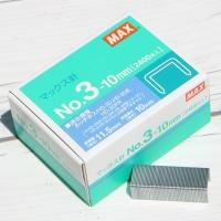 맥스 제본용 스테플러 HD-3 시리즈 전용 심 No.3-10mm