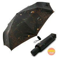 3단 안전중봉 자동우산(양산겸용) - 밤에부엉이