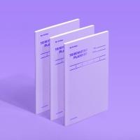 [모트모트] 텐미닛 플래너 31DAYS - 바이올렛 (3EA)