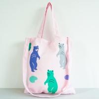 [오그램] 젤리곰 크로스 에코백 - 핑크