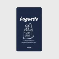 [어프어프] 보조배터리 Baguette-navy