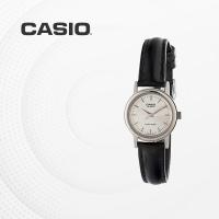 카시오 여성 여자 가죽 빈티지 손목시계 LTP-1095E-7A