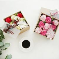 향기가득 비누카네이션 플라워용돈박스
