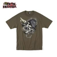 SNAKE PIT S/S (MILITARY GREEN)