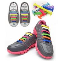 쿨래이스 특허받은 실리콘 운동화끈 (매듭이 필요없는 신발끈)