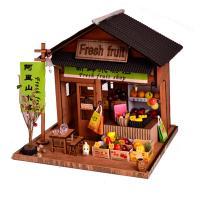 [adico]DIY 미니어처 우드 스토어 - 과일가게