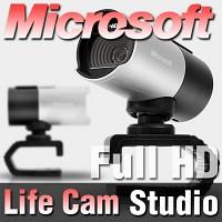 마이크로소프트 코리아 정품 LifeCam Studio 화상카메라/웹캠/Full-HD동영상/마이크내장/디지탈줌/라이프캠