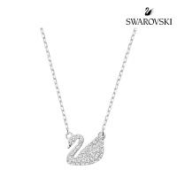 [스와로브스키 정품] 목걸이 Swan Pave 펜던트_ 5187404