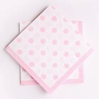 라인도트 파티냅킨 - 핑크(20매)