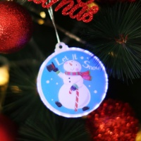 LED 크리스마스 패치 (눈사람)