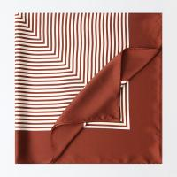 New Square Stripe Square Scarf
