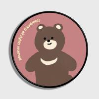 Board bear-dark pink(스마트톡)