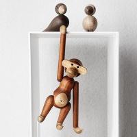 [무료배송]원목 원숭이 장식