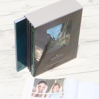[Nakabayashi] 백일,돌,생일선물에는..360장수납 5권/팩...나카바야시 3단 포켓앨범 Pleasant Breeze HF484