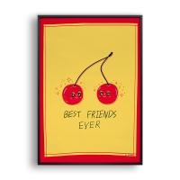 Best friends / 일러스트 액자