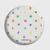 [어프어프] 손거울 Alphabet-Ivory