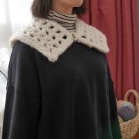 슈슈 미니 케이프 (S 사이즈) - 코바늘 뜨개질 키트