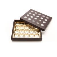 초콜릿박스 20구 브라운 원형