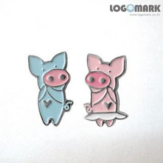 돼지커플 뱃지
