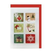 크리스마스카드/성탄절/트리/산타 Christmas 시즌카드 (FS111-3)