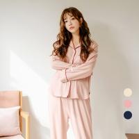 [쿠비카]카라넥 스판 투피스 여성잠옷 W519