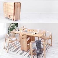 벤트리 원목 확장형 테이블 식탁 SET (시즌2)