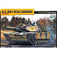 (아카데미과학-ACTA082) 1/48 미육군 주력전차 M1A2 에이브람스 [모터] (13002) 탱크 프라모델
