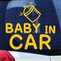 BABY IN CAR(2) - 초보운전스티커(413)
