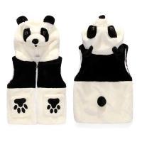 팬더곰 발바닥 후드 유아조끼(3-6세) 300170