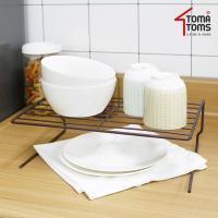 [토마톰스]접시/식기 정리대 대_초코브라운