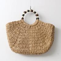 Rattan Bead Tote Bag