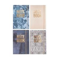 [House Doctor]Notebook Seasons asstd 4 prints A5 Sk1239 디자인노트