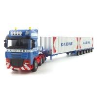 LOW BED TRANSPORTER(KDW250221BL) 컨테이너 트레일러