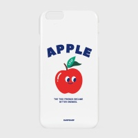 [어프어프] 하드/터프/슬라이드 Leaf apple-white