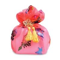 [인디고샵] 전통 분홍색 어우동 보자기 set
